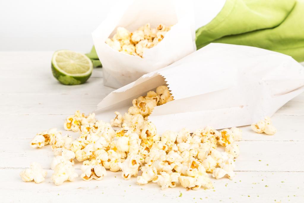 Popcorn med chili & lime | Foto: Michael Krantz