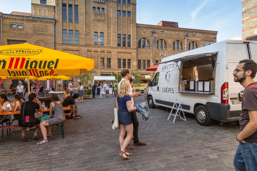 Street food festival i Berlin