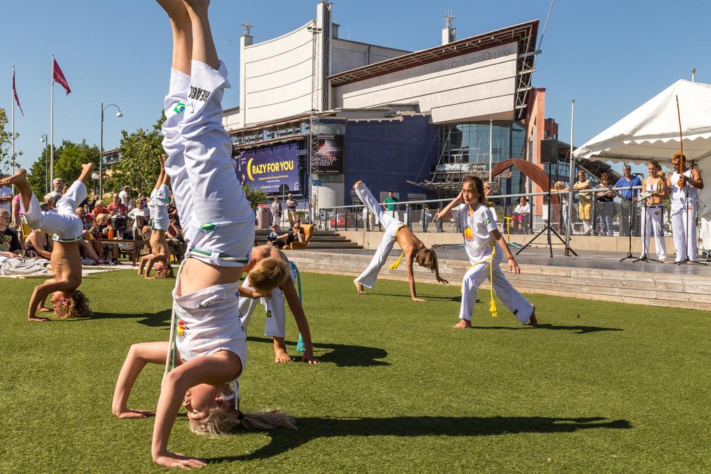 REAGL Capoeira bjöd på uppvisning på Global Picnic Food Festival | Foto: Michael Krantz