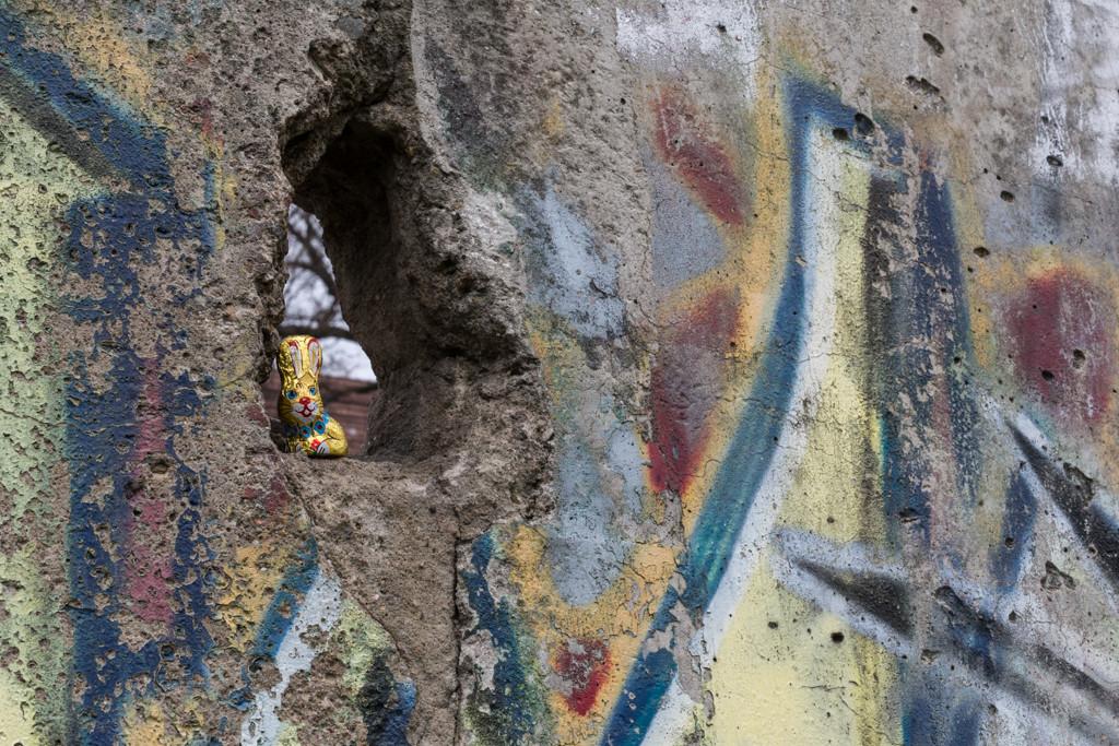 Detalj av Berlinmuren | Foto: Michael Krantz