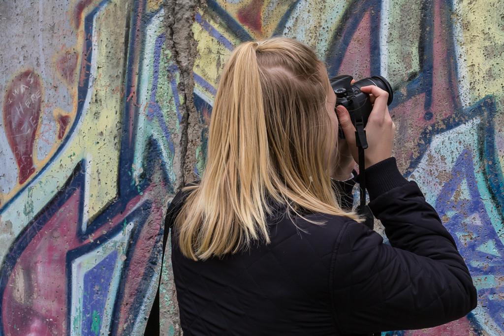 Berlinmuren dokumenteras | Foto: Michael Krantz