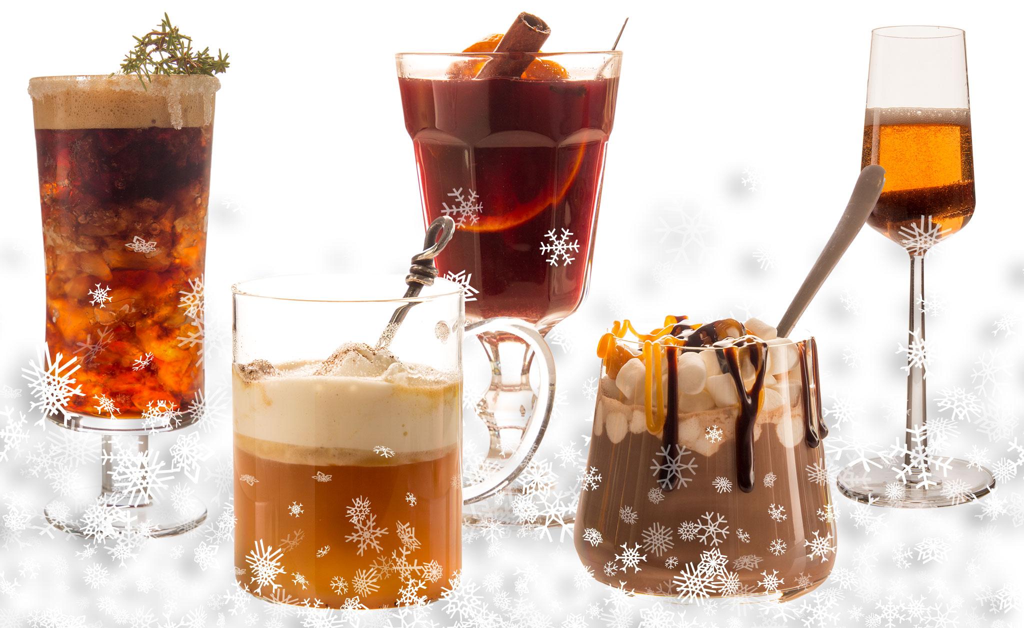 Läckra drinkar varma och kalla för hela vintern.